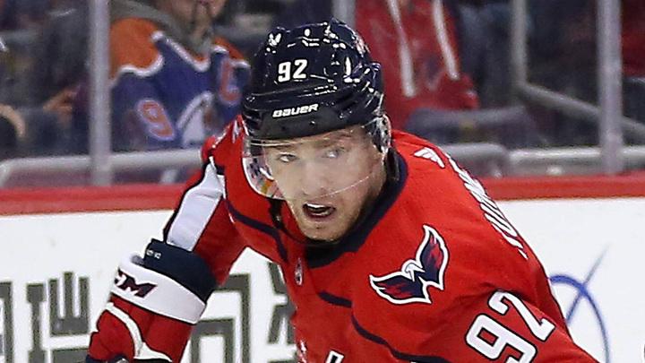 Евгений Кузнецов стал второй звездой игрового дня