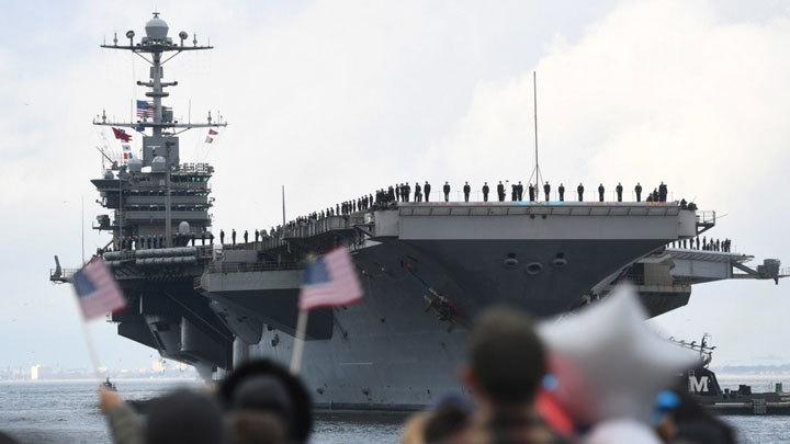 Американские авианосцы спасаются каннибализмом