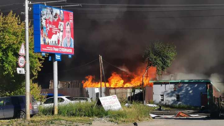 Взрыв на Гусинобродском шоссе в Новосибирске: Онлайн-трансляция