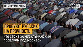 Пробуют русских на прочность: Что стоит за мусульманским посёлком под Москвой