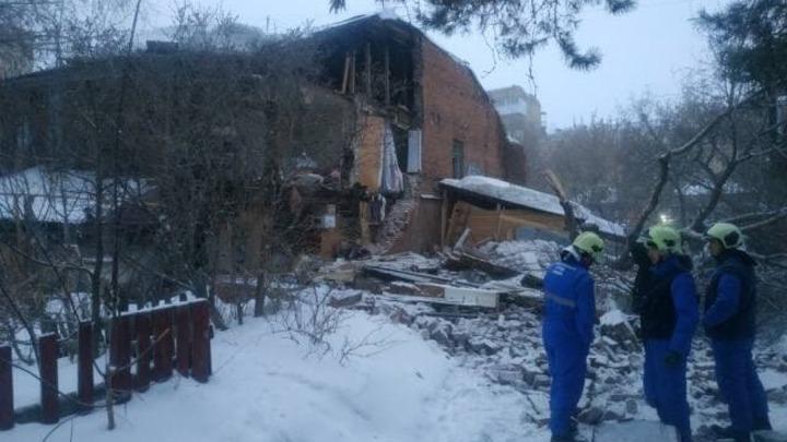 Стали известны подробности обрушения старинного дома в центре Самары