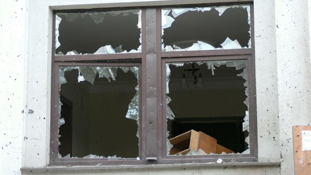Охранник школы вДонецкой области получил ранения из-за взрыва