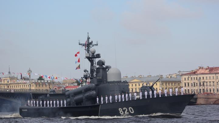 В Петербурге спустили на воду противоминный корабль нового поколения - фото
