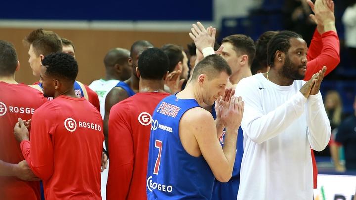 ЦСКА повёл в плей-офф Евролиги против Химок со счётом 2-0
