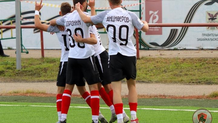 Футбольный клуб Чита сыграет с лидером чемпионата в 12 туре ФНЛ-2