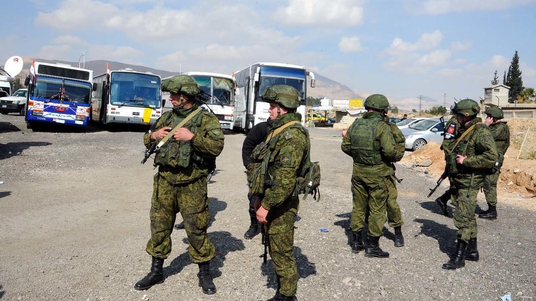 Генерал-майор заявил об обстреле гуманитарного коридора в Восточной Гуте