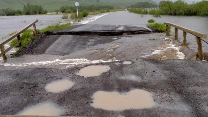 Большая вода отрезала шесть населенных пунктов в Нерчинском районе