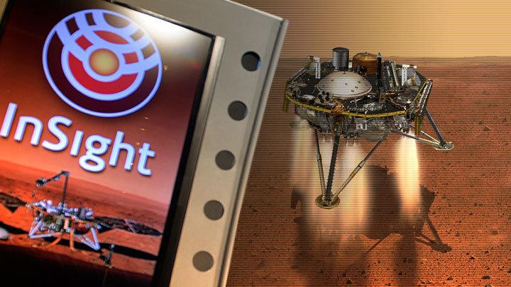 И марсиане в пыльных шлемах… Нет, не склонятся над InSight
