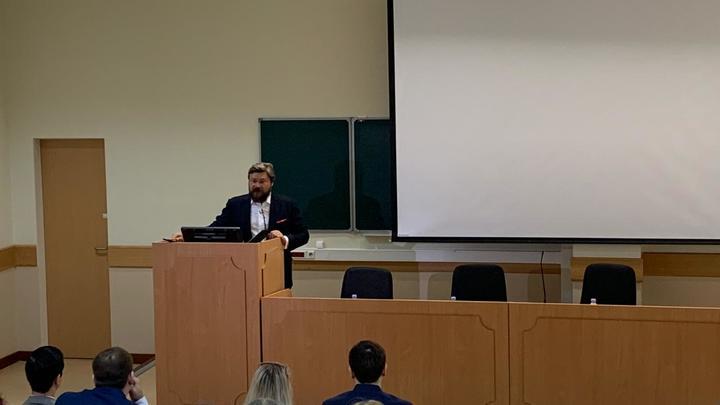 Стратегия России - в русской мечте: Константин Малофеев призвал студентов вместе создавать будущее страны
