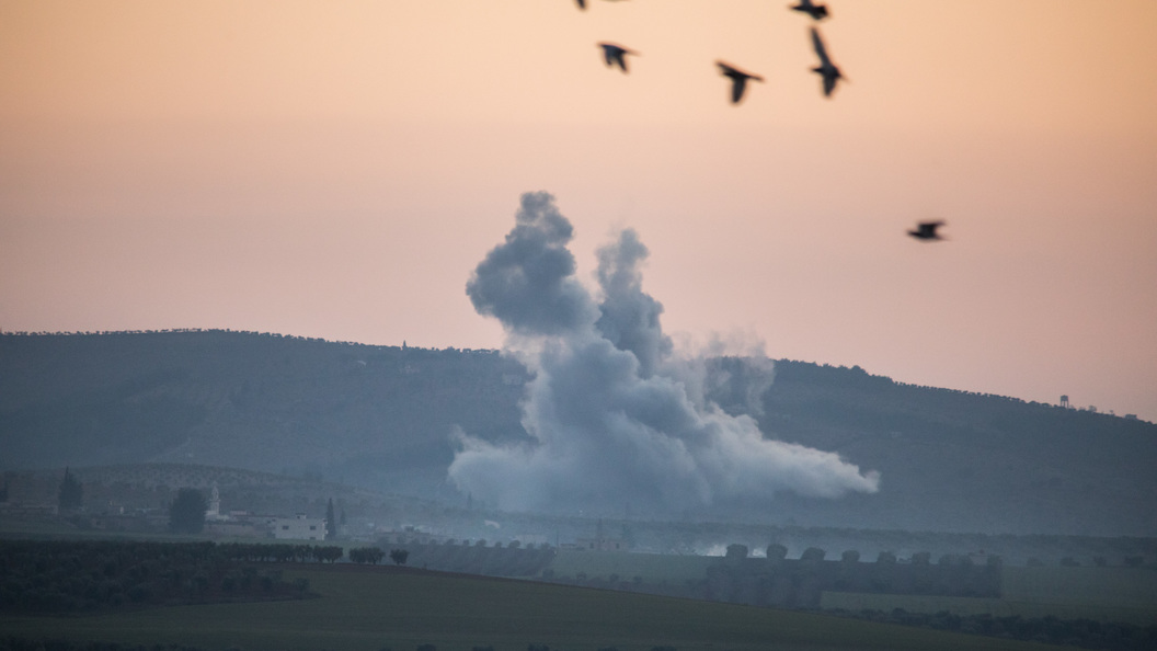 Русские военнослужащие сказали опотоке беженцев изсирийского Африна