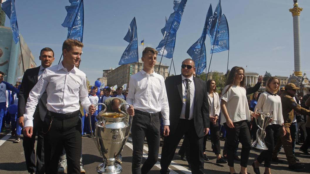 Власти Украины непустят крымчан нафинал Лиги чемпионов по русским паспортам