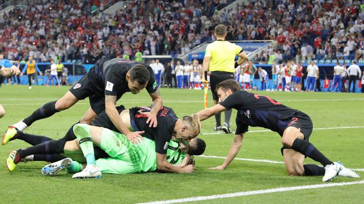 Двое футболистов Хорватии после игры сРоссией попали в поликлинику