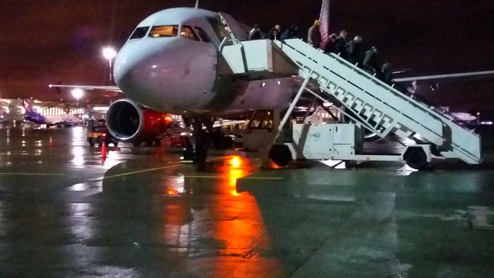 В самолете, летевшем в Екатеринбург, скончался пассажир
