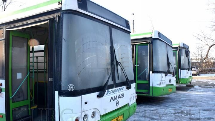 В Кургане выйдут на маршруты низкопольные автобусы из Москвы