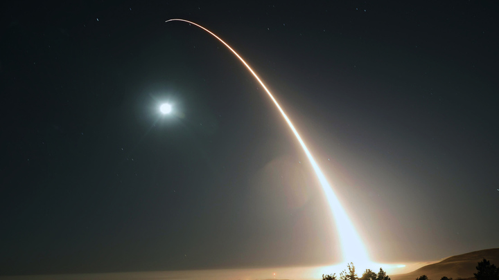 США провели первый в этом году пуск межконтинентальной ракеты Minuteman III