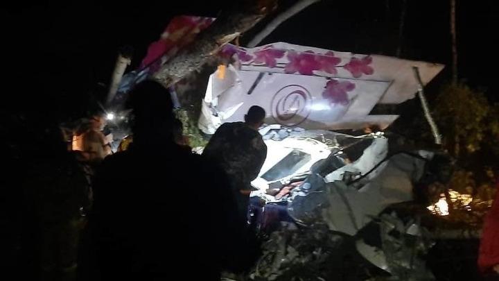 Самолёт всмятку!: Пассажир рухнувшего в Иркутской области борта - откровенно об аварии