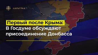 Первый после Крыма: В Госдуме обсуждают присоединение Донбасса