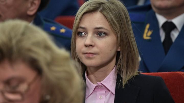 Со всех сторон - взгляды, словно пули: Поклонская рассказала, как ее пыталась наказать Единая Россия