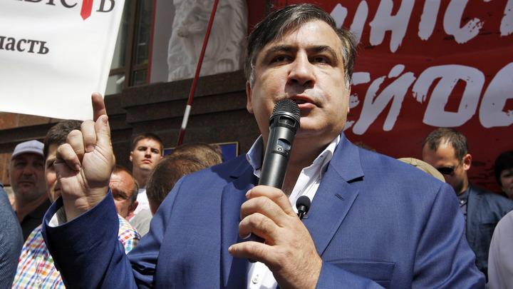 Саакашвили, попытавшегося доехать до Киева, высадили из поезда