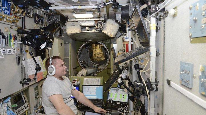 На МКС произошёл сбой установки по удалению углекислого газа