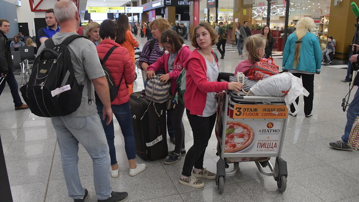 Нет грузчиков: Сотни пассажиров Шереметьево застряли из-за задержки багажа - СМИ