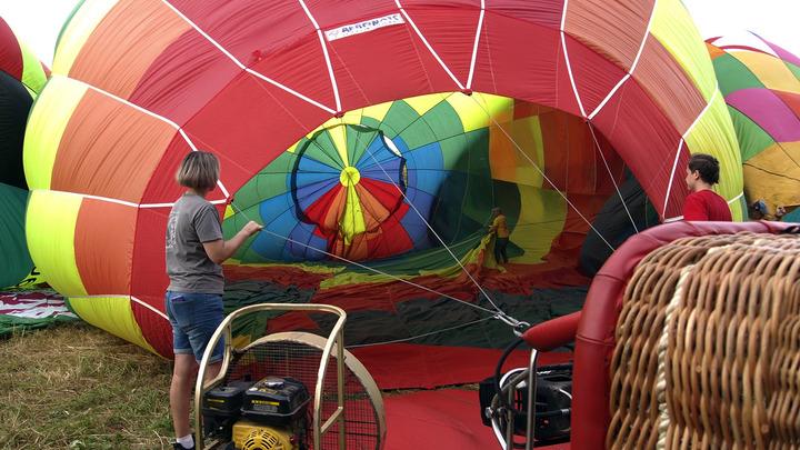Суздальский юбилейный старт воздушных шаров был сорван