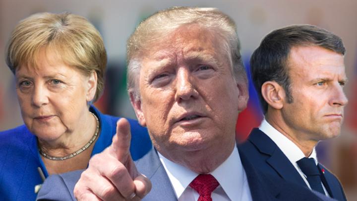 Меркель против возвращения России в G8, Трамп – за, Макрон колеблется