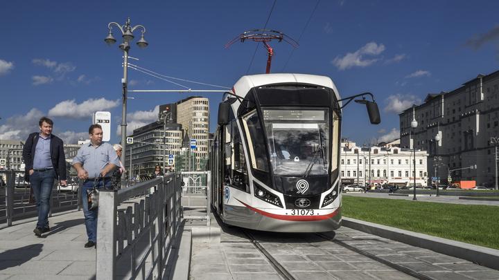 Чистопрудный бульвар в Москве целые сутки будет принимать парад трамваев