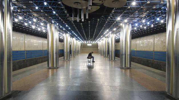 Аноним заминировал шесть станций метро в Киеве