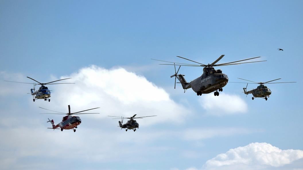 КНР купил 10 вертолётов наМАКС