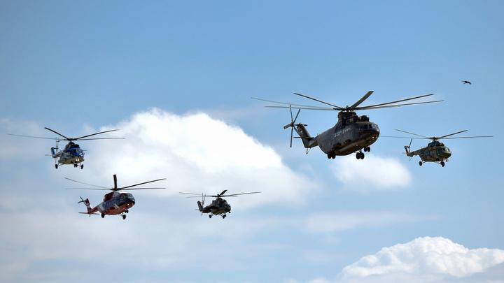 До конца года Китай начнет получать российские вертолеты