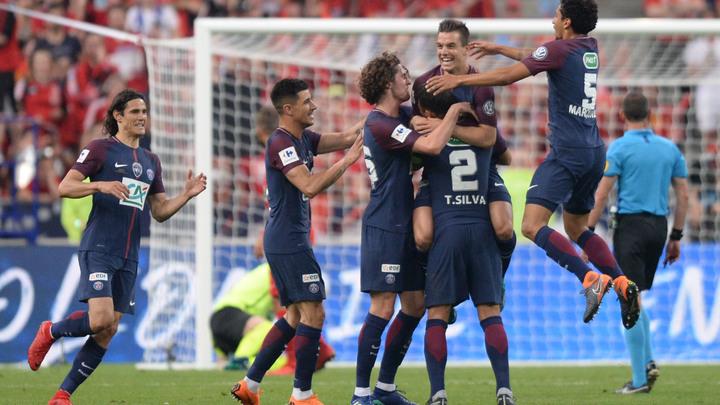 ПСЖ третий раз подряд завоевал Кубок Франции, 11-й в истории клуба