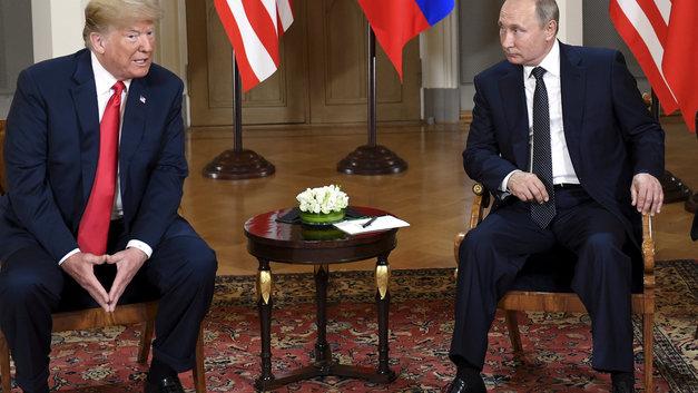 Поговорили, можно и поесть: Встреча Путина и Трампа продолжилась за обеденным столом