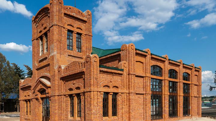 На нижегородской Стрелке завершили реконструкцию столетней фильтровальной станции