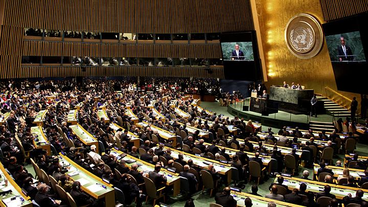 Русская угроза: Генассамблея ООН приняла резолюцию о милитаризации Крыма