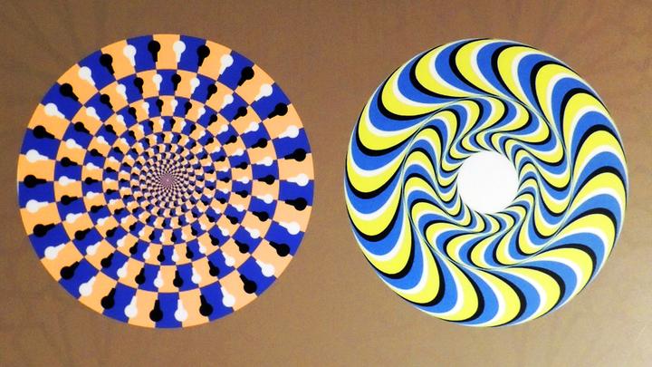 В 15 миллисекунд: Учёные рассказали про зависание мозга во время просмотра оптической иллюзии