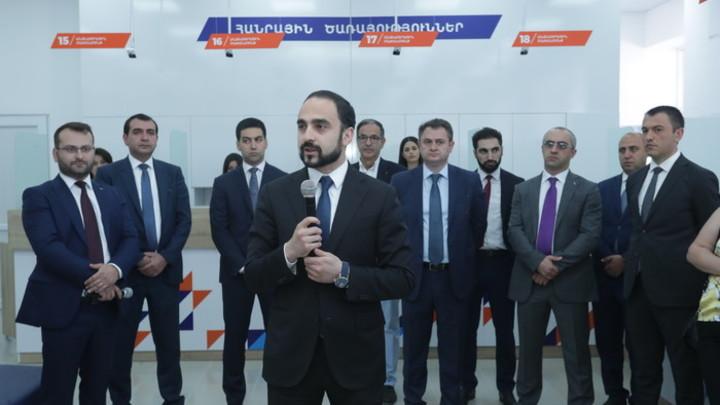 Многофункциональный центр госуслуг открылся в Гюмри