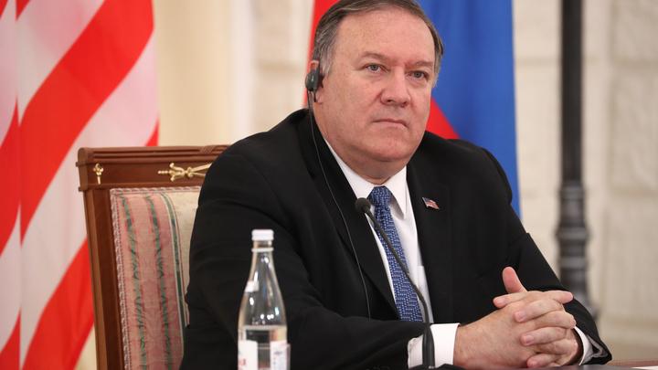 Мы очень рады этому: Помпео хочет как можно быстрее заморозить ядерный арсенал России