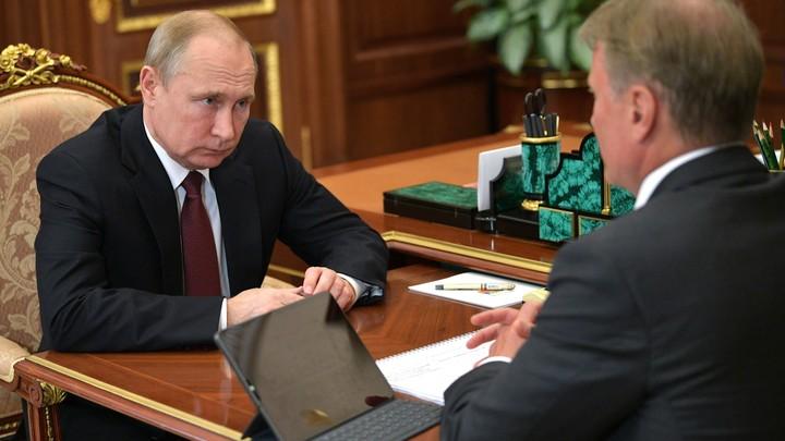 Облом, Герман Оскарович: Депутат вслед за Путиным осадил прилипчивого Грефа
