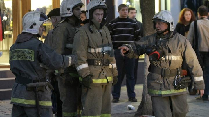 В Екатеринбурге загорелось расписанное уличным художником здание