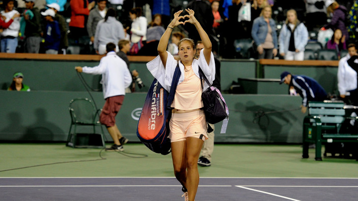 Дарья Касаткина отметила профессиональный рост после турнира в Индиан-Уэллсе