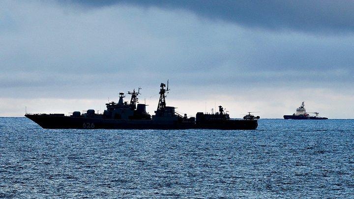Русские корабли обошлись без помощи Испании