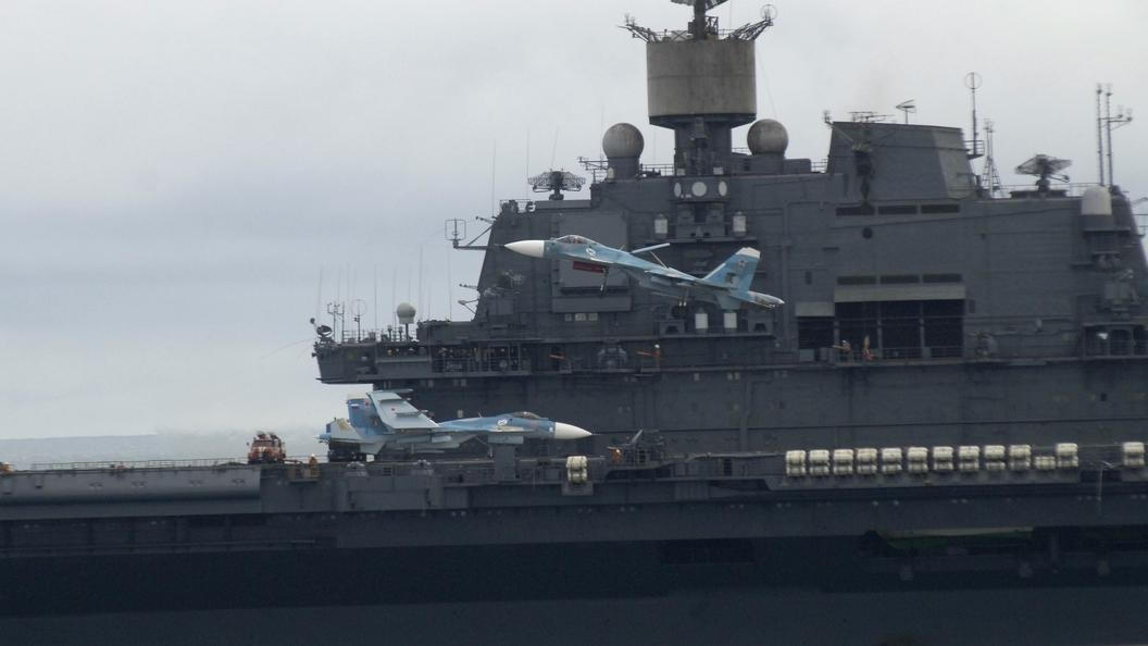 Авианосец «Адмирал Кузнецов» отправлен на модификацию