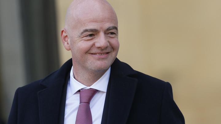 Глава ФИФА оценил на сто процентов готовность России к ЧМ-2018