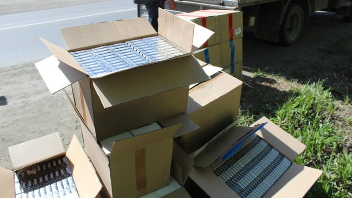 В Нижнем Тагиле полиция изъяла у предпринимателя контрфактные сигареты на три миллиона рублей