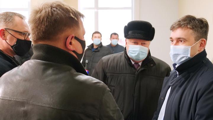 Станислав Воскресенский заставил подрядчика извиниться за срыв сроков строительства ФОКа в Кинешме