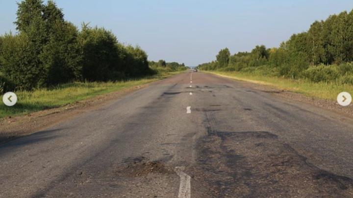 Губернатор Шумков объяснил, почему дорога на Тюмень в плохом состоянии