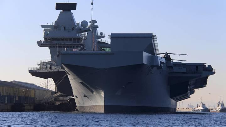Все матросы на борту: ВМС Великобритании поднимаются по сигналу тревоги