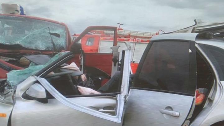 Опасный маневр: В ДТП на трассе в Ростовской области погибли два человека