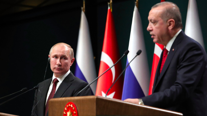 """""""Лицом к лицу с Путиным"""". Будет ли президент России спасать Эрдогана"""